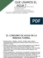 Usos Del Agua en La Mineria e Industria