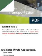GIS in Transportation
