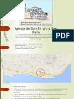 Analisis de Iglesia de San Sergio y San Baco