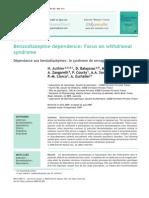 Benzodiazépine Dependence
