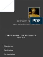 1 Theories of Justice