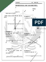 examen bimestral geometria
