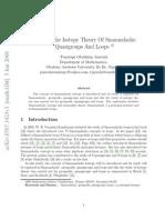 Smarandache Isotopy Theory Of Smarandache