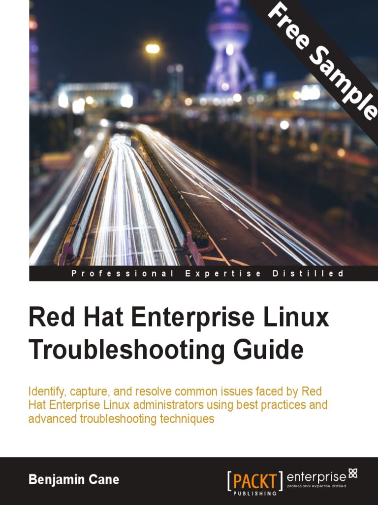 Red hat enterprise linux troubleshooting guide sample chapter troubleshooting scientific method