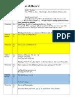 segment two schedule