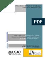 diseño y proceso constructivo para elaboracion de vivienda de bajo costo