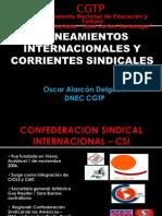 ALINEAMIENTOS INTERNACIONALES Y CORRIENTES SINDICALES EN EL PERU