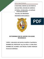QUIMICA-CUANTITIA-AZUFRE