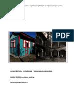 Arq. Verancula y Colonial Dominicana