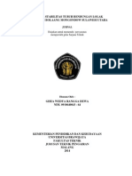 Analisa Stabilitas Tubuh Baaendungan Lolak Kabupaten Bolaang Mongondow Sulawesi Utara Ghea Wedya Rangga Dewa 0910640043