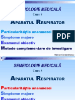 Curs 8 Aparatul Respirator