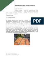 Elementos Prefabricados Para Losas de Concreto