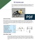 Recumbent Trike Steering