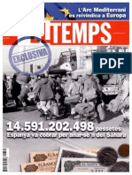 Revista El Temps EXCLUSIVA