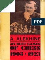 Alexander Alekhine - My Best Games of Chess 1908-1923 Ed 1927