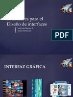 Estándares Para El Diseño de Interfaz
