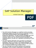 SAP Solution Manager Overview.ppt