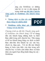 Ưu Đãi Chuyển Vùng Quốc Tế Của Thuê Bao Mobifone