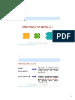 Struttura dei metalli 1