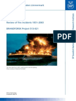Tank Fires Review of fire incidents 1951–2003