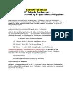 Program Flow BNP Raffle