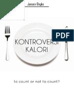 Kontroversi Kalori eBook