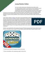 Teknik dan Trik Menang Domino Online