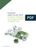 European salary survey 2014