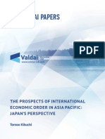 The Prospects of International Economic Order in Asia Pacific