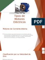 Tipos de Motores Eléctricos