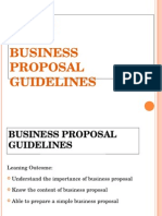 English Unit 5 Business Proposal Guideline