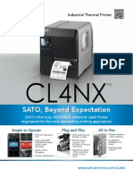 CL4NX a Revolutionary Barcode Printer