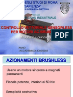 controllo sensorless
