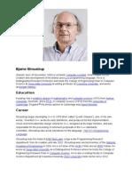 Assigment -Bjarne Stroustrup