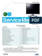 Dell E177FPc Service Manual for Genesis IC
