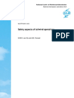 Safety Aspects of Tailwind Operations