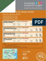 CAE Enrol 2015 Young Learners
