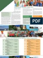 Irish College of English Junior Brochure 2015