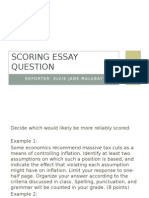 scoring-essay-question