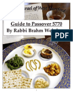 RBW Pesach Guide 5770