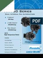 AVI160 Series Alternators Sales Brochure