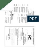 GeForce FX5200 Gigabyte GV N52128DS Manual