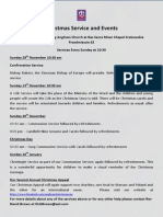 Christmas Servicesand Events
