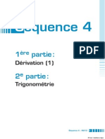 Math Dérivation Et Trigonometrie