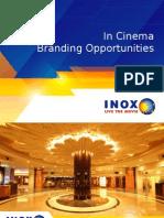 Branding options at Cinema