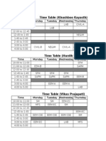 TIME TABLE.xls