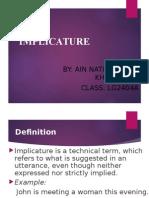 Implicature prgmatics