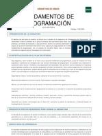 Fundamentos de Programacion UNED Guía asignatura 15-16