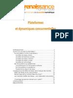 Plates-formes et les dynamiques concurrentielles