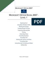 MSExcel2007-Level1